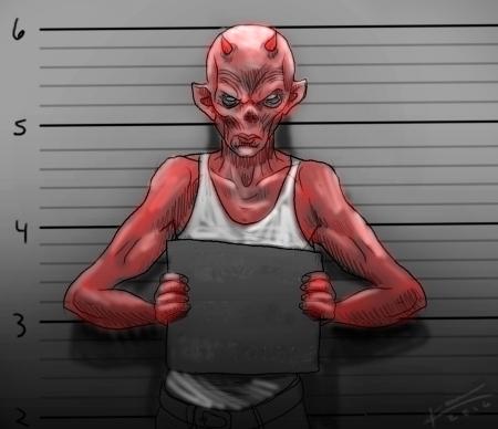 DevilMugshotSketch